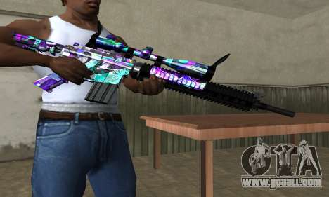 Automatic Sniper Rifle for GTA San Andreas