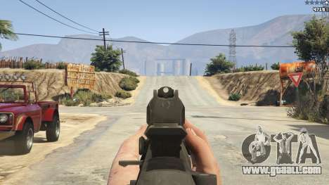 GTA 5 BF4 AR160 seventh screenshot