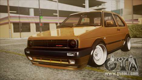 Volkswagen Golf Mk2 Schmidt TH Line for GTA San Andreas