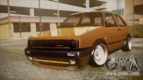 Volkswagen Golf Mk2 Schmidt TH Line for GTA San Andreas