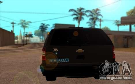 Chevrolet Blazer Berkut for GTA San Andreas back left view