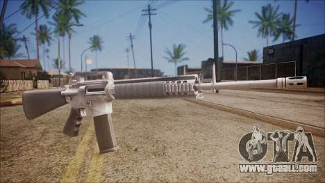 M16A3 from Battlefield Hardline for GTA San Andreas