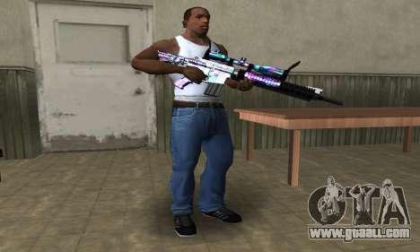 Automatic Sniper Rifle for GTA San Andreas second screenshot