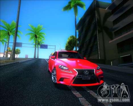 Sparkle ENB for GTA San Andreas