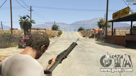 GTA 5 BF4 AR160 ninth screenshot