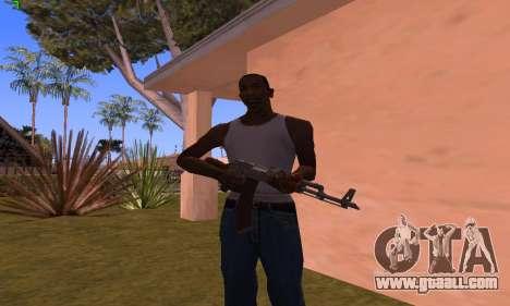 AK-47 from Battlefield Hardline for GTA San Andreas third screenshot