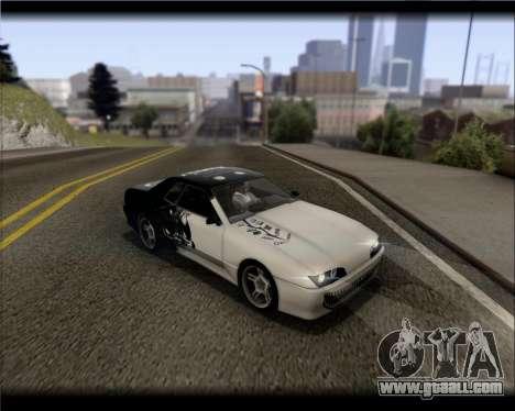 Elegy Hard Stunt for GTA San Andreas interior
