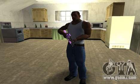 Purple World Shotgun for GTA San Andreas third screenshot
