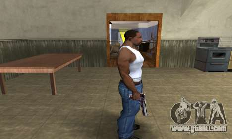 Purple Deagle for GTA San Andreas third screenshot