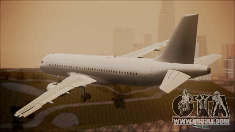 Airbus A320-200 for GTA San Andreas left view