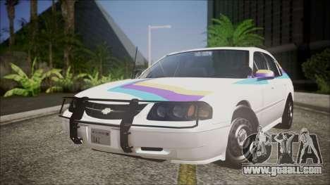 Chevrolet Impala FBI Slicktop for GTA San Andreas