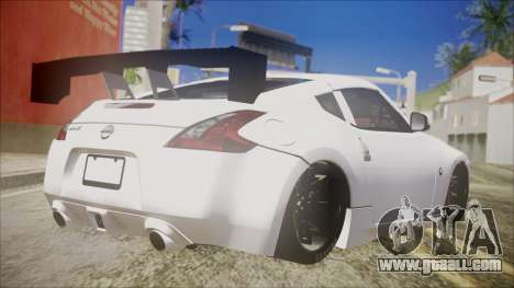 Nissan 370Z SPPC for GTA San Andreas left view
