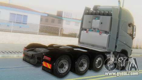 Volvo FH Euro 6 Heavy 8x4 for GTA San Andreas left view