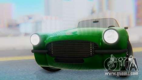 Invetero Coquette BlackFin v2 GTA 5 Plate for GTA San Andreas back view