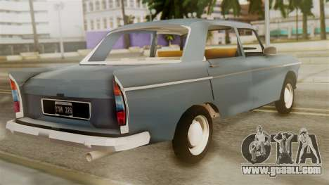 Peugeot 404 for GTA San Andreas left view