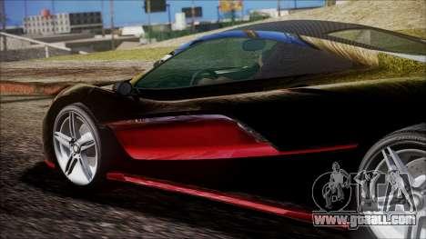 GTA 5 Progen T20 for GTA San Andreas right view