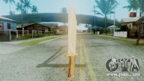 Red Dead Redemption Knife Diego Skin for GTA San Andreas