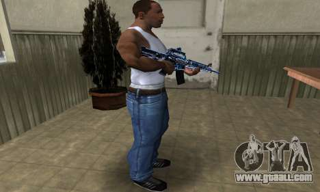 Cold M4 for GTA San Andreas third screenshot
