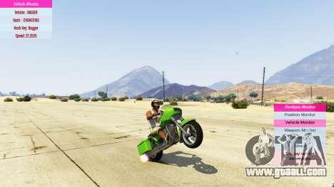 GTA 5 Indicators for developers v0.71 third screenshot