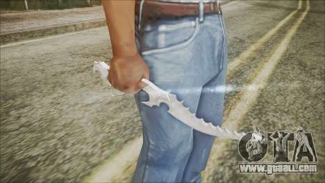 Collector's knife for GTA San Andreas third screenshot