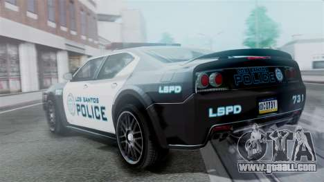 Hunter Citizen Police LS IVF for GTA San Andreas left view