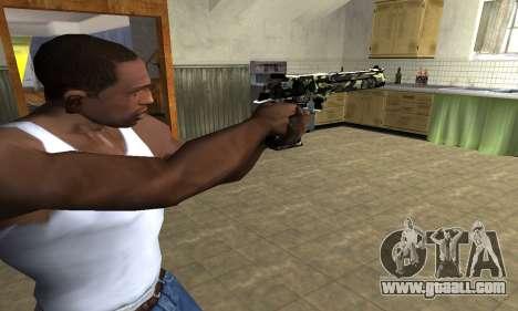 Deagle Camo for GTA San Andreas second screenshot