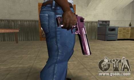 Purple Deagle for GTA San Andreas
