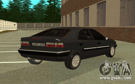 Citroen Xantia for GTA San Andreas left view