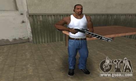 Two Lines Shotgun for GTA San Andreas second screenshot