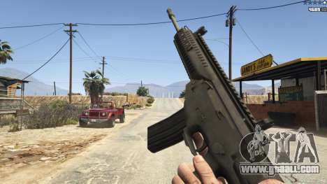 GTA 5 BF4 AR160 eighth screenshot