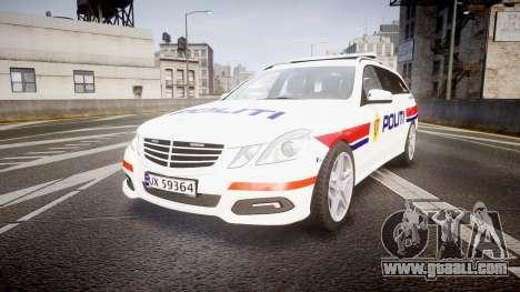 Mercedes-Benz E63 AMG Estate 2012 Police [ELS] for GTA 4