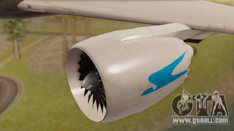 Boening 737 Argentina Airlines for GTA San Andreas right view