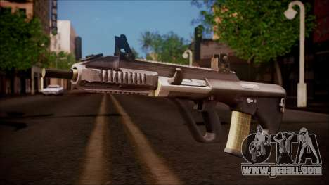 AUG A3 from Battlefield Hardline for GTA San Andreas