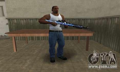 JokerMan Rifle for GTA San Andreas third screenshot