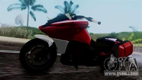 Dinka Vindicator SA Plate for GTA San Andreas right view