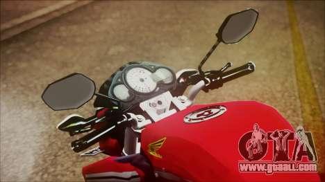 Honda CB150R Streetfire for GTA San Andreas right view