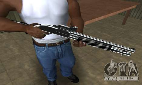 Two Lines Shotgun for GTA San Andreas