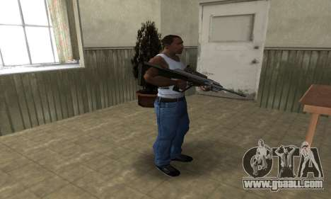 Brown AUG for GTA San Andreas third screenshot