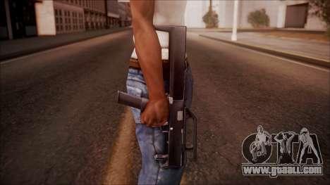 FMG-9 from Battlefield Hardline for GTA San Andreas third screenshot