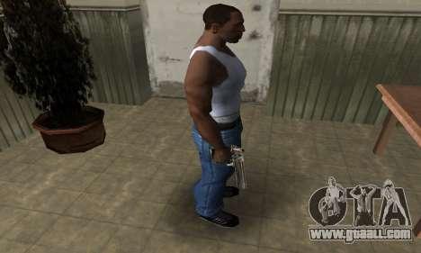 Full of Gold Deagle for GTA San Andreas third screenshot