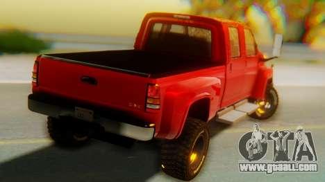 GMC Topkick C4500 for GTA San Andreas left view