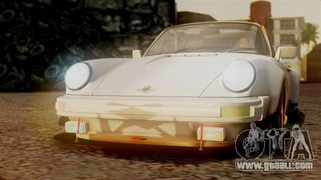 Porsche 911 Turbo (930) 1985 Kit C PJ for GTA San Andreas wheels