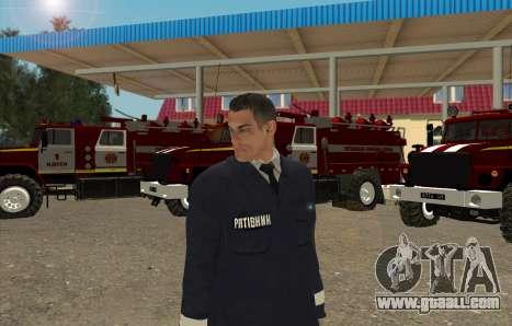 Rescuers Ukraine for GTA San Andreas