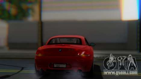 BMW Z4 sDrive35is 2011 2 Extras for GTA San Andreas side view