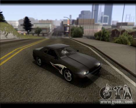 Elegy Hard Stunt for GTA San Andreas bottom view