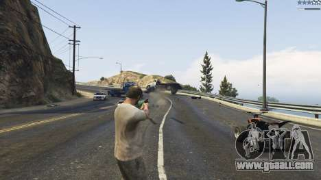 GTA 5 Gravity Gun 1.5 fourth screenshot
