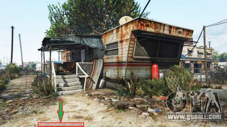 Display of location of player v1.06 for GTA 5