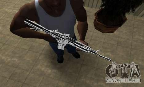 Original M4 for GTA San Andreas