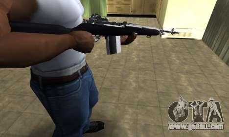 Full Black Rifle for GTA San Andreas