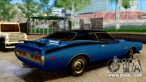 Dodge Charger Super Bee 426 Hemi (WS23) 1971 PJ for GTA San Andreas back left view